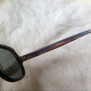 Vintage Accessories - Vintage Rodenstock Brown Aviators Tortoise Shell